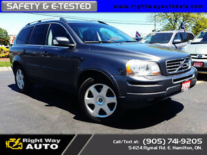 2008 Volvo XC90 Sport | LTHR | SAFETY & E-TESTED
