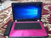 Pink HP Pavilion G6 Laptop