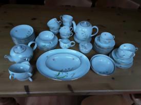 Porcelain afternoon tea set
