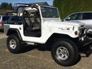 1971 TOYOTA FJ40 LANDCRUISER, need space obo