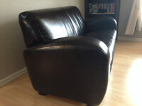 Leather Loveseat for sale $50