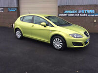 2009 SEAT LEON S 1.9 TDI S 5 DOOR ONLY 51000 MILES WITH FULL SERVICE HISTORY