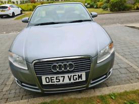 Convertible Automatic 2008 Audi A4 1.8 Petrol..low Miles..full MOT...£