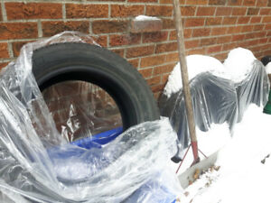 200$MICHELIN WINTER TIRES XICE 205/55 R16 for 3 (4th included)
