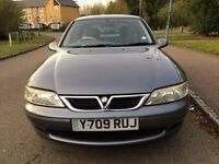 Vauxhall vectra 1.8 petrol great condition one year mot very good car