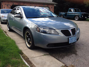 2008 Pontiac G6 Sedan SAFETIED + ETESTED