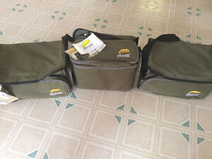 Brand new soft sided tackle boxes