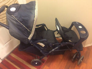 This Is A Must See ! Graco DuoGlider Double Stroller - 70 Bucks