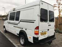 MERCEDES BENZ SPRINTER 412 D 2.9 TD 8 SEATER WINDOW VAN TWIN WHEELS