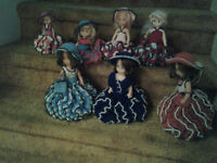 DOLLS - HANDMADE KNITTED COSTUMES