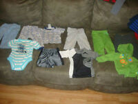 lot of boys 9 month clothes