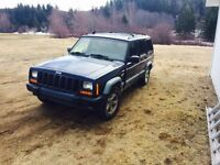 Looking to trade my jeep for a old bigred