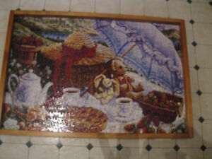 2 Framed Picture Puzzles