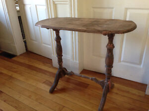Beautiful Antique Hall Table/ Sofa Table/Desk, Solid Wood