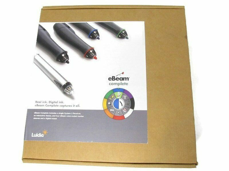 Luidia eBeam Complete System 3 Digital Whiteboard & USB Projection 46000577