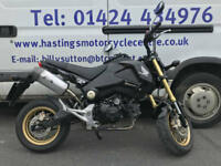 Honda MSX125 / Grom 125 / Yoshimura Exhaust / Nationwide Delivery / Finance