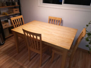 Solid Wood Table For Sale, (FIRM $280.00)