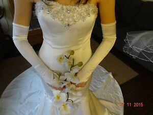 élégente robe de mariée de style sirene