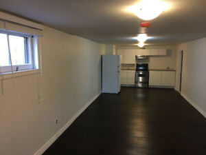 2-bedroom basement for rent located  in Pickering.
