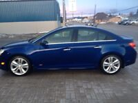 2013 Chevy Cruze ltz with RS package