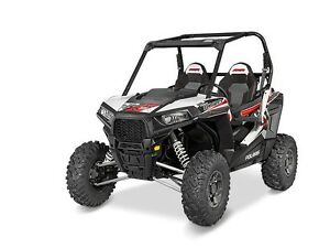 2016 Polaris RZR S 1000 EPS Matte White Lightning