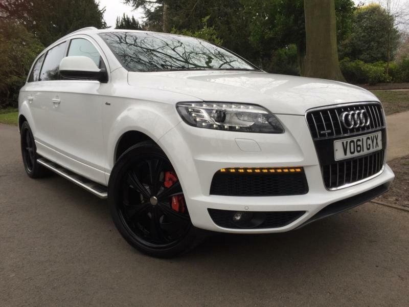 2012 audi q7 3 0tdi 242 bhp auto quattro s line 7seats 22. Black Bedroom Furniture Sets. Home Design Ideas
