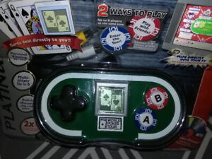 BRAND NEW POKER PLUGN'PLAY