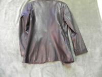 Leather suit jacket brand new