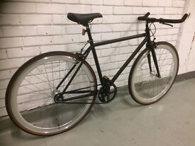 FOFFA SINGLE SPEED BIKE SIZE 48CM BLACK