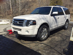 2012 Ford Expedition Limited Max SUV White LOADED