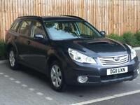 """2011 """"11"""" Subaru Outback 2.0D SE NavPlus, 5 Door Estate, Diesel, 4WD, AWD."""