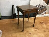 Small Antique Old Side Table VGC