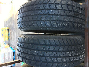 Champion GT radial WT-60 pair of 2 SNOW TIRES