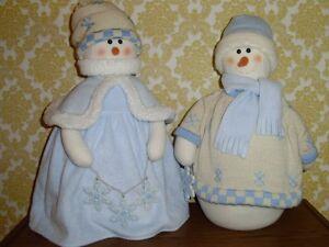 MR & MRS SNOWPEOPLE