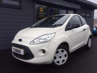2011 61 Ford Ka 1.2 ( s/s ) Studio White **1 Previous Owner - FSH - £18 A WEEK**