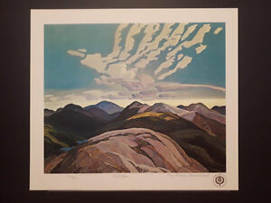 "Limited Edition ""Hilltops"" by Franklin Carmichael London Ontario image 4"