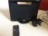 Sony speaker for phone or I pod