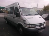 2005 55 reg IRIS.BUS DAILY 40S13 17 seat mini bus NO VAT £3,295