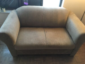 Moving sale - sofa, single bed, drawer, table