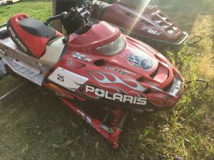 2004 Polaris PRO-XR 440 factory race sled