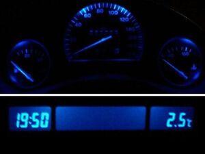 Blaue LED Tachobeleuchtung + MID-Display Opel Corsa B - Combo B - Tigra PnP