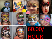 PROFESSIONAL FACE PAINTING THAT'S AFFORDABLE