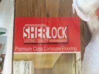 Oak laminate flooring 4pks