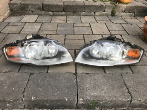2007 Audi A4 left & right headlight assembly!