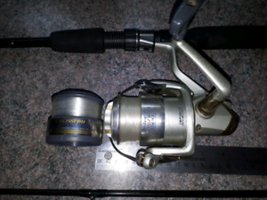 Berkly Gorilla Rod and  Daiwa Spinning Reel Combo