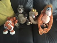 Jungle book soft animals