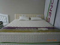 ORTHOPEDIC ALOA VERA KING  SIZE MATTRESS499.99$ FACTORY OUTLET