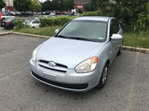 2007 Hyundai Accent Prope ac Vitre Electric Coupe (2 door)