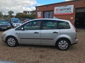 2006 Ford Focus C-MAX 1.6 LX TDCi 90 Silver 5dr MPV, **ANY PX WELCOME**