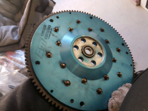 D17 clutch master flywheel